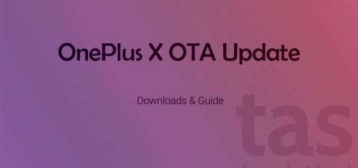 OnePlus X OTA Update download