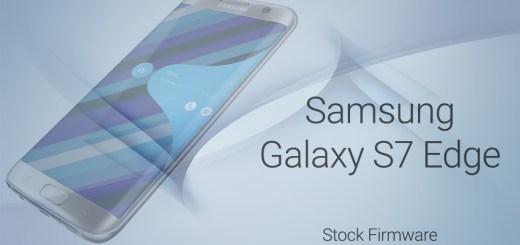 galaxy s7 edge stock firmware