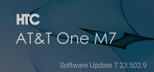 AT&T htc one m7 update