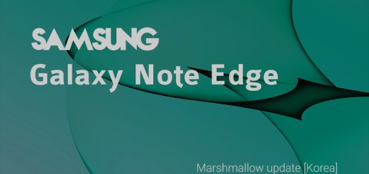 korean note edge Marshmallow update