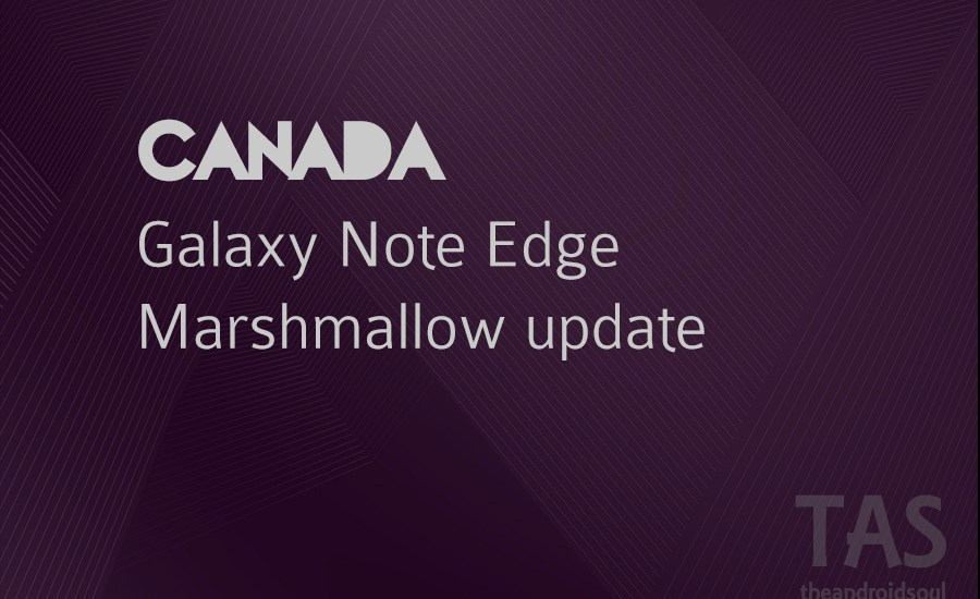 note edge Marshmallow update canada