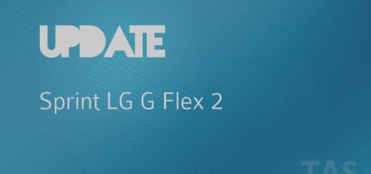 sprint g flex 2 update
