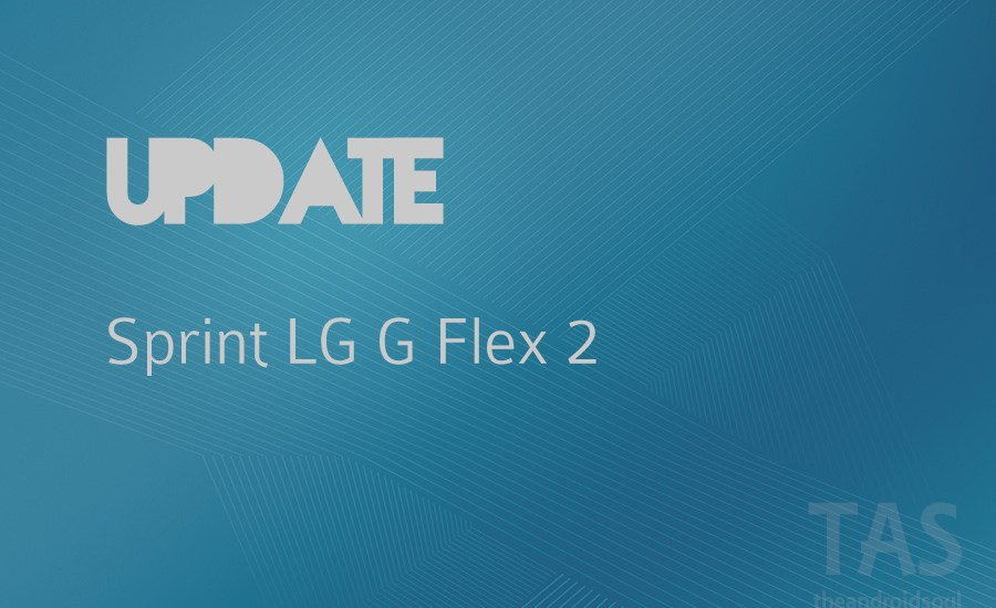 sprint g flex 2 update