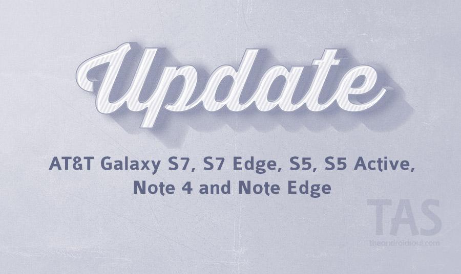 AT&T update s7 Wi-Fi calling