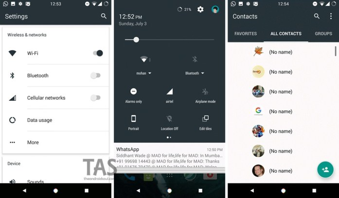 cm13 Android 7.0 theme