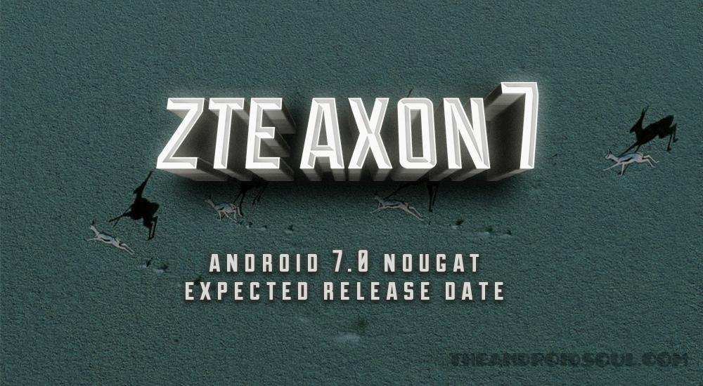 axon 7 Nougat