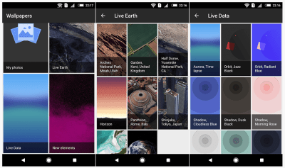 The Groove Wallpaper in Google Pixel 3 Live Wallpaper APK dances to your music [Android 6.0, 7.0 ...