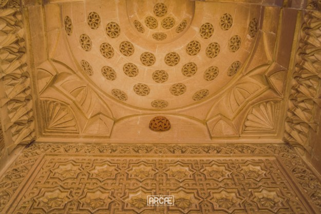 Detail in one of Mardin's mosques