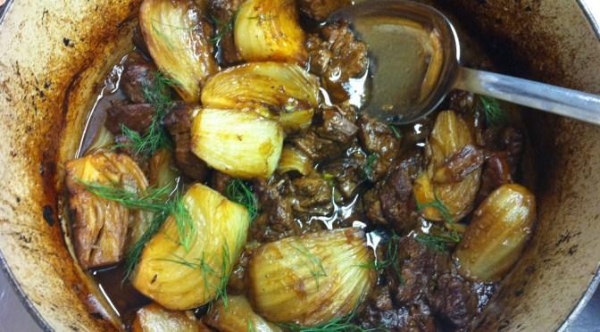 Spezzatino D'Agnello E Finnoccio (Lamb and Fennel Stew)