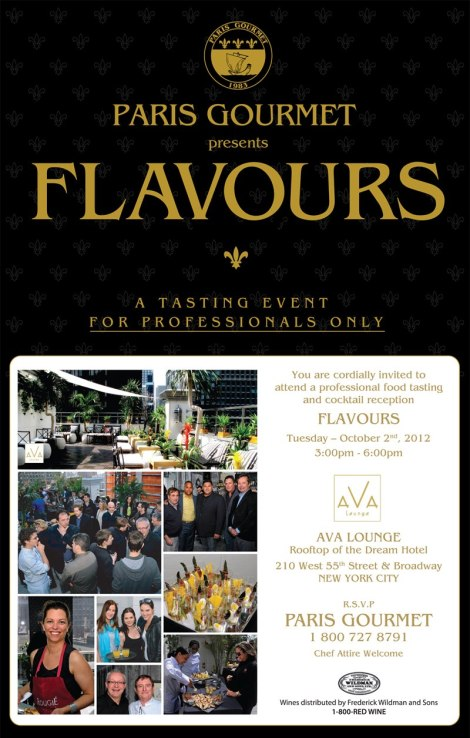 FLAVOURS Tasting Event by Paris Gourmet at Dream Hotel NYC