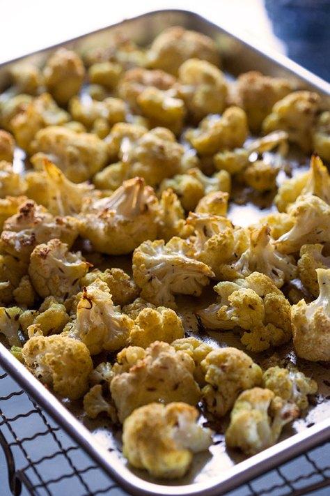 Roasted Curry Cauliflower 2
