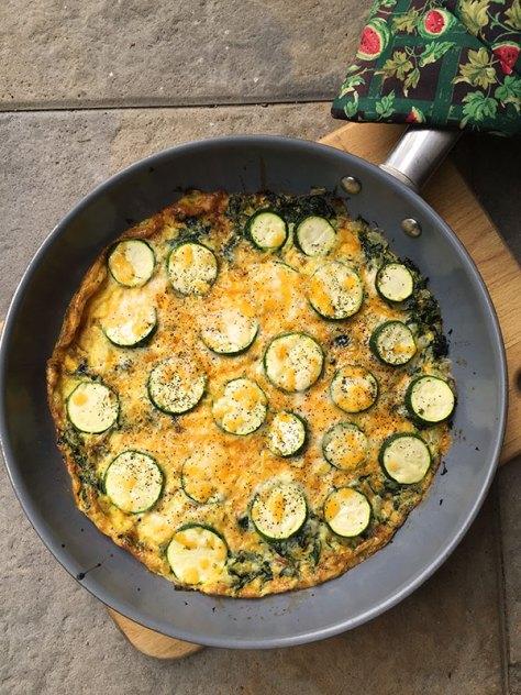 Summer Veggie Frittata