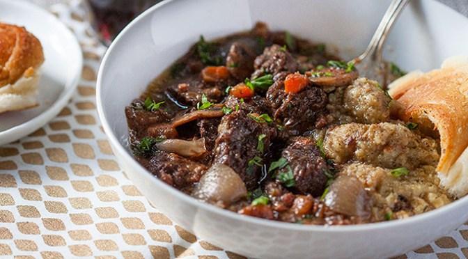 Classic Comfort Food :: Beef Bourguignon