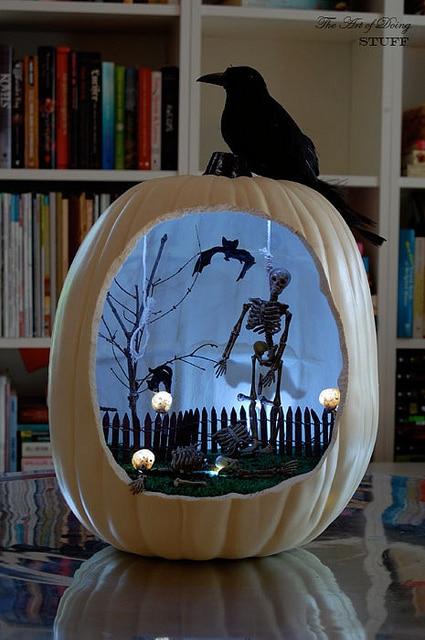 Pumpkin Diorama 2