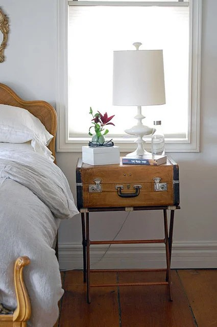 Suitcase Bedside Table 3