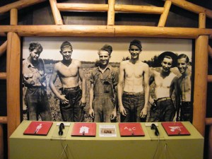 CCC Workers As Seen In A Photograph Displayed In the CCC Museum In Highland Hammock Park