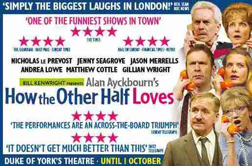 Competition: Win tickets to 'How The Other Half Loves' at The Duke of York's Theatre