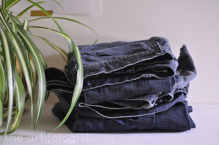 the refashioners challenge, jeans, the artyologist