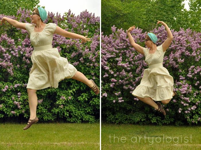 not a ballerina, the artyologist