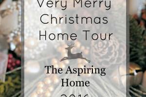 Very Merry Christmas Home Tour