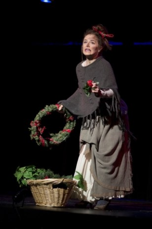 Agy (Brianna Hurley) the wash woman (Photo by Christopher Washington)