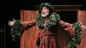 "Michael Selkirk as The Ghst of Christmas Past in Titan Theatre Company's ""A Chirstmas Carol"""