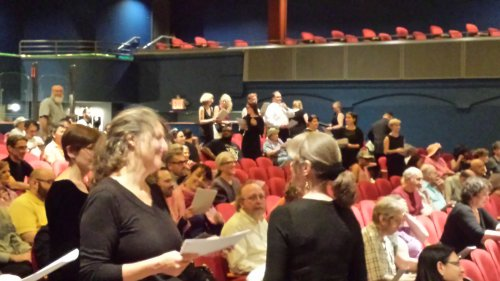 Symphony Space audience at ChoralFest USA 2015
