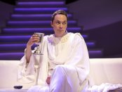 """Jim Parsons in a scene from """"An Act of God"""" (Photo credit: Jeremy Daniel)"""