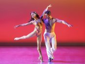"""Misty Copeland and Tony Yasbeck in a scene from """"On the Town"""" (Photo credit: Joan Marcus)"""