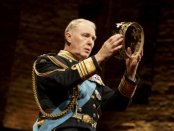 """Tim Pigott-Smith in a scene from """"King Charles III"""" (Photo credit: Joan Marcus)"""