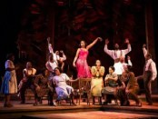 """Jennifer Hudson (center) and the company of """"The Color Purple"""" (Photo credit: Matthew Murphy)"""