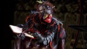"""Shiloh Goodin as Toadpipe in a scene from """"The Screwtape Letters"""" (Photo credit: Joan Marcus)"""