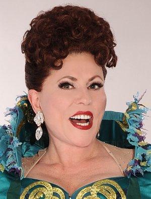 "Rita McKenzie in ""Ethel Merman's Broadway"" (Photo credit: Keith Munyan)"