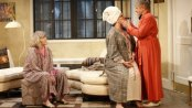 """Judith Ivey, Angelina Fiordellisi and Estelle Parsons in a scene from """"Out of the Mouths of Babes"""" (Photo credit: Carol Rosegg)"""