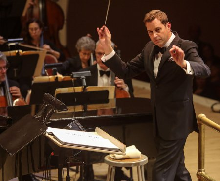 """Music director Steven Reineke as he conducted The New York Pops' """"Concert for Courage"""" (October 11, 2016) (Photo credit: Richard Termine)"""