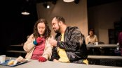 """Shara Ashley Zeiger and Christopher Michael McLamb in a scene from """"Roughly Speaking"""" (Photo credit: Den Sweeney Photography)"""