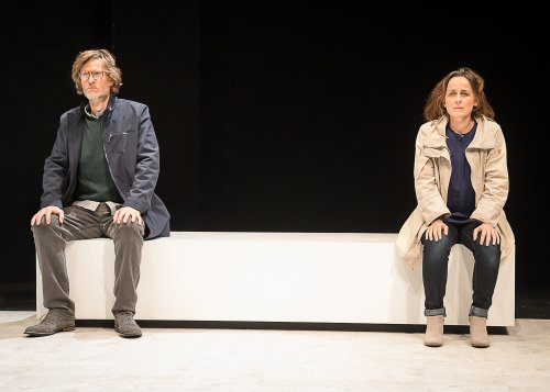 """Michael Laurence and Birgit Huppuch in """"Poison"""" (Photo credit: Lou Montesano)"""