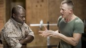 "David Oyelowo and Daniel Craig in a scene from ""Othello"" (Photo credit: Chad Batka)"