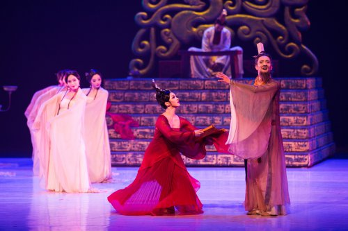 "A scene from The China National Opera & Dance Drama Theater's production ""Confucius"" (Photo credit: Liu Haidong)"
