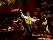 """Josh Groban and cast in a scene from """"Natasha, Pierre & The Great Comet of 1812"""" (Photo credit: Chad Batka)"""