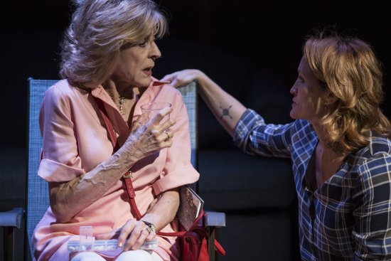 """Concetta Tomei and Angela Reed in a scene from """"The Mother of Invention"""" (Photo credit: Maria Baranova)"""