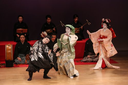 A scene from Nihon Buyo Dance (Photo credit: Julie Lemberger)