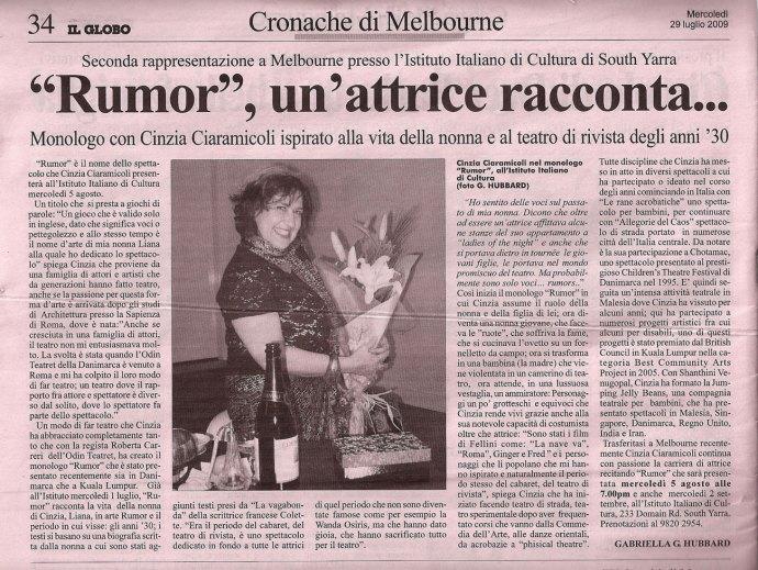 Cinzia'-review