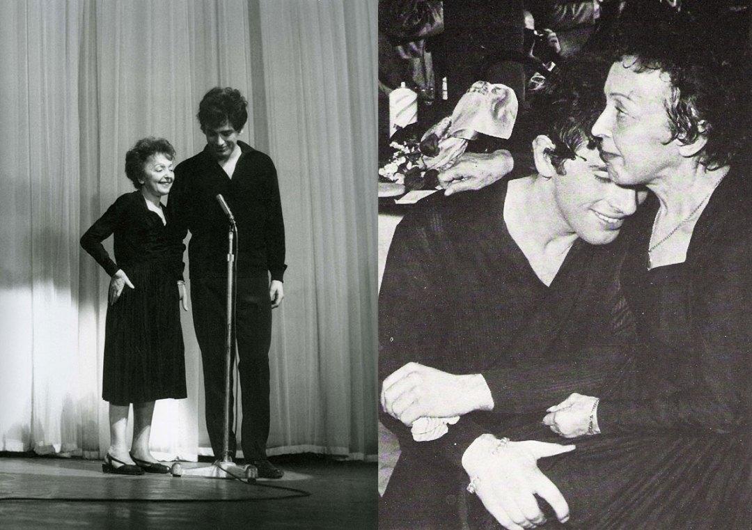 Edith Piaf & Theo Sarapo
