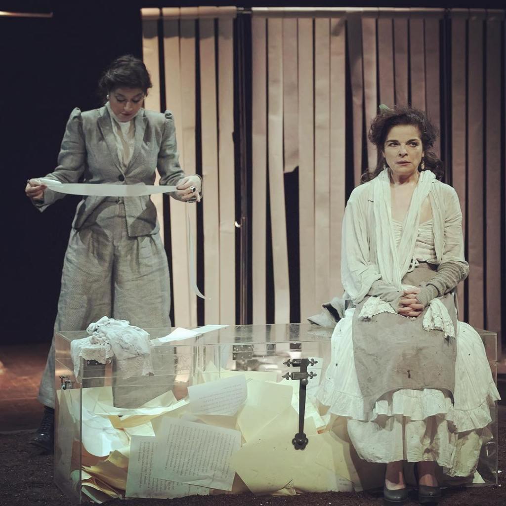 Αποτέλεσμα εικόνας για Camille Claudel Θέατρο Αυλαία