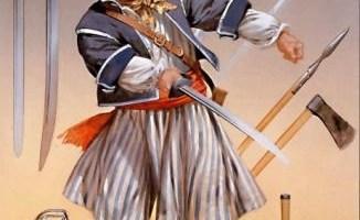pirate au sabre