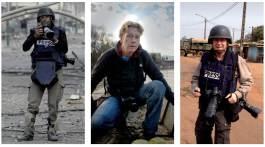 De gauche à droite : Patrick Baz (Franco-Libanais, 51 ans), Odd Andersen (Norvégien? 45 ans), Eric Feferberg (Français, 59 ans). Crédit : AFP