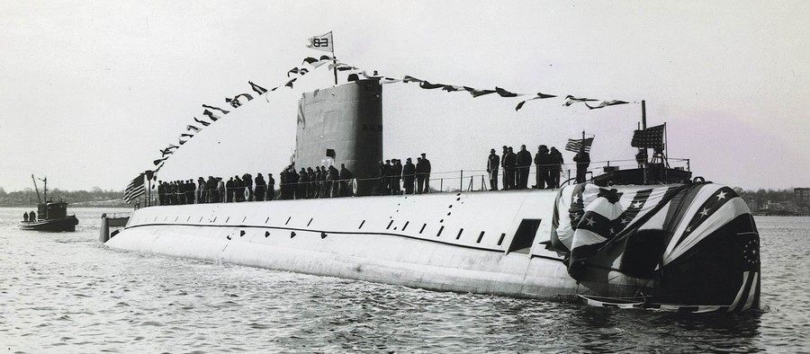 USS Nautilus (SSN 571)  le 21 janvier 1954.