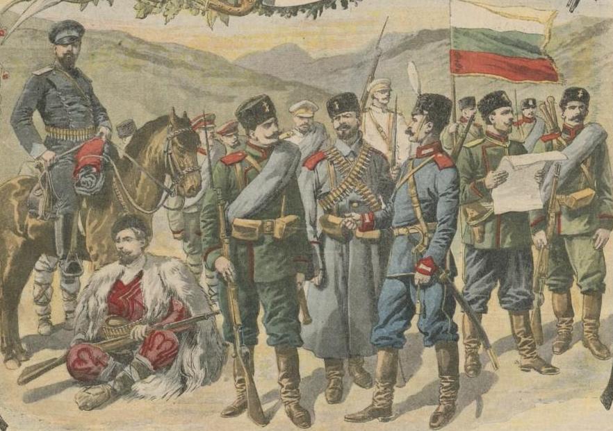 Militaires bulgares