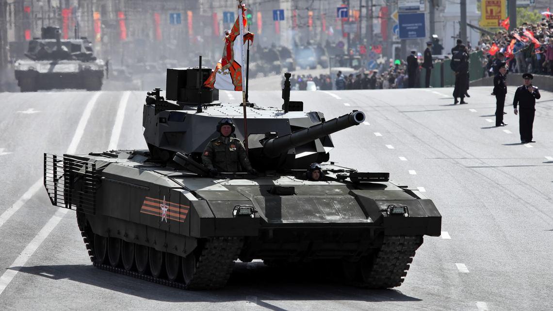 Char russe T-14. Crédit photo : Vitaly KUZMIN.